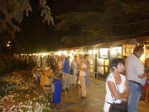 Выставка-продажа картин местных художников.