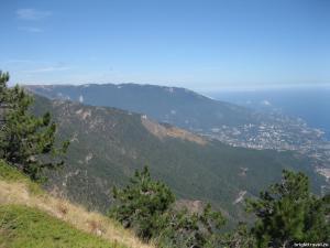 Красивый вид с гор (1)