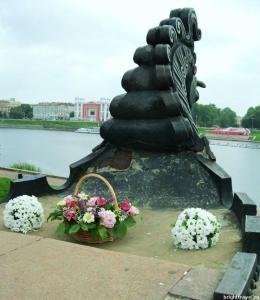 Вид с памятника А. Никитину