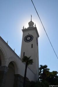 Башня вокзала Сочи