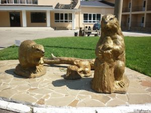 Скульптура бобров