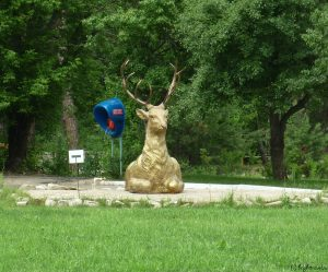 Скульптура оленя 2