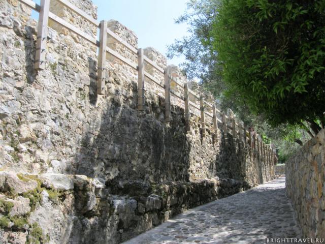 Крепость Аланьи внутри