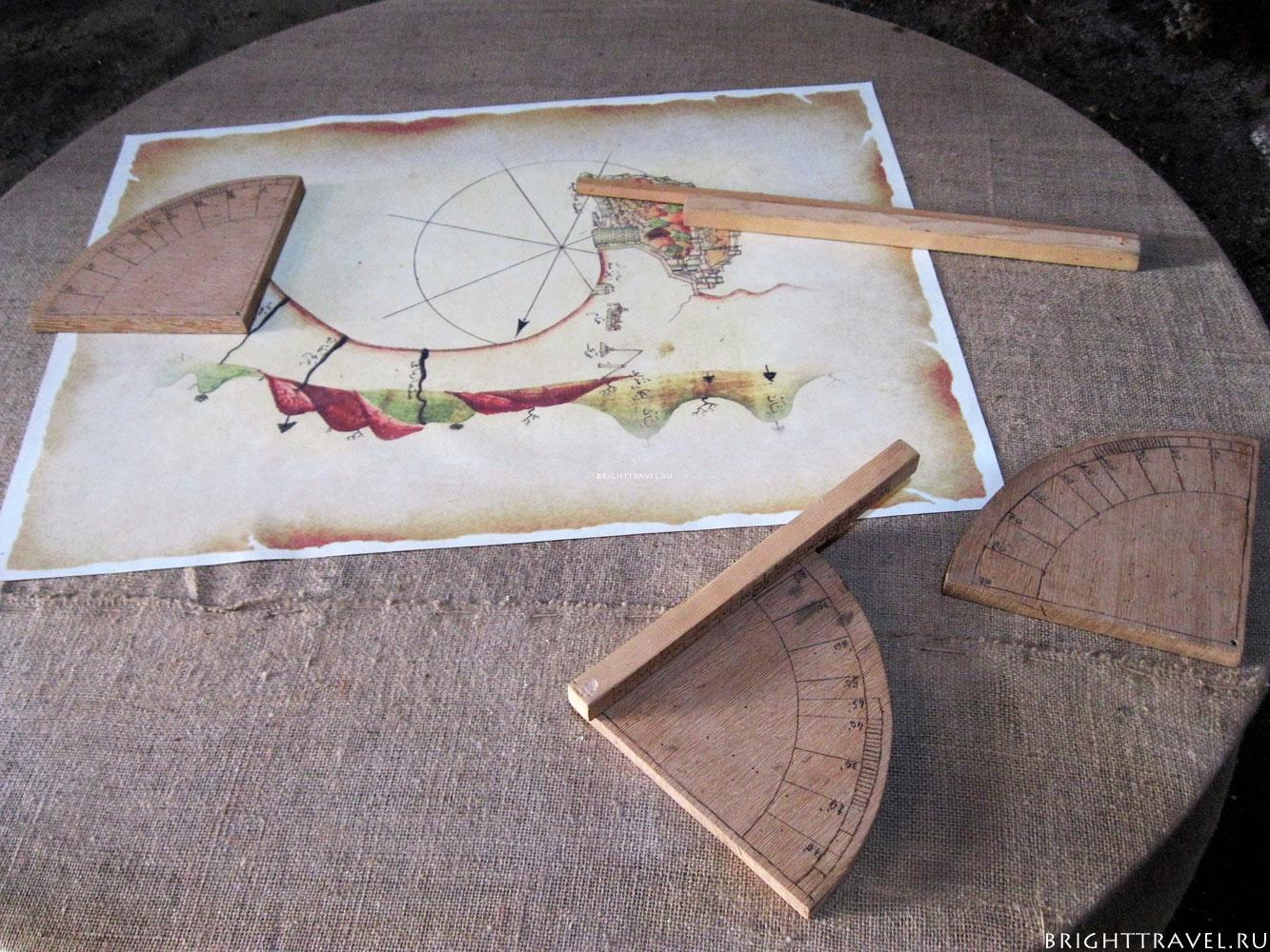 Судоверфь инструменты навигации