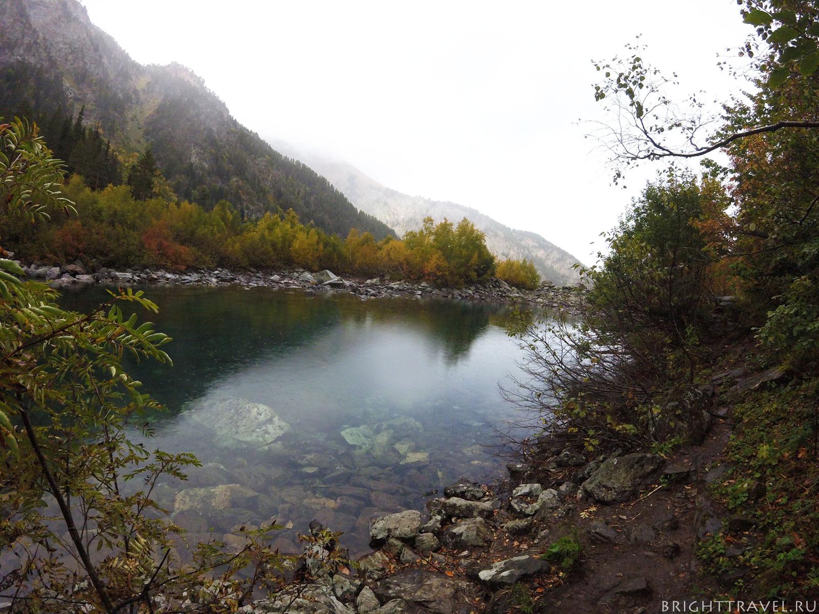 Первое бадукское озеро III
