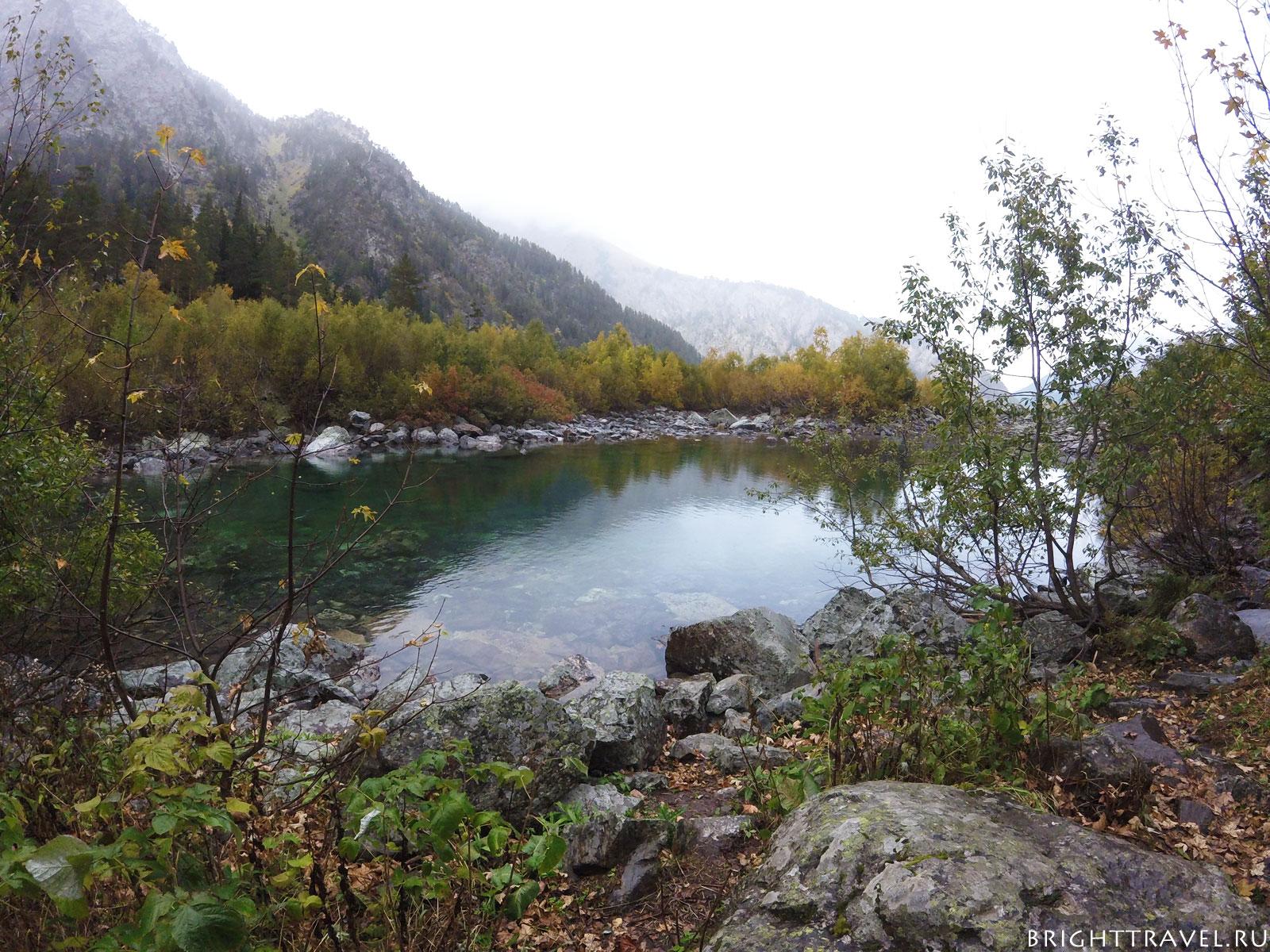 Первое бадукское озеро осенью II