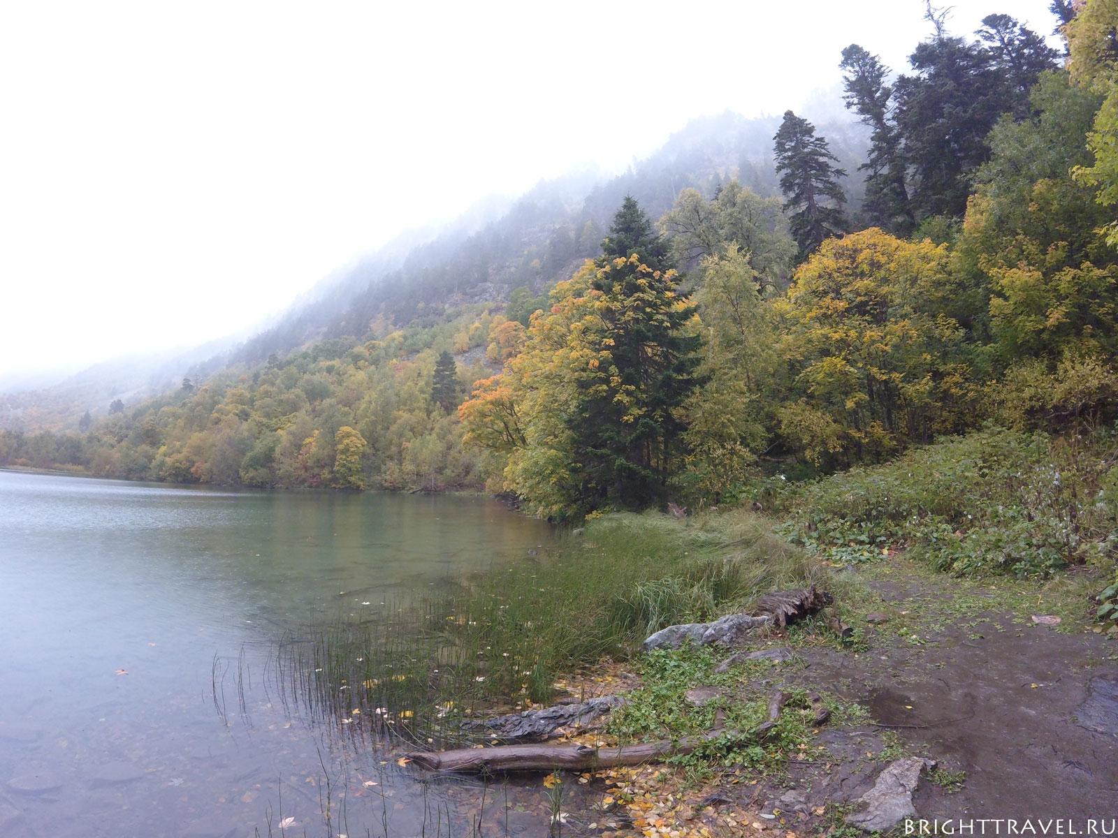 Красоты вблизи третьего бадукского озера