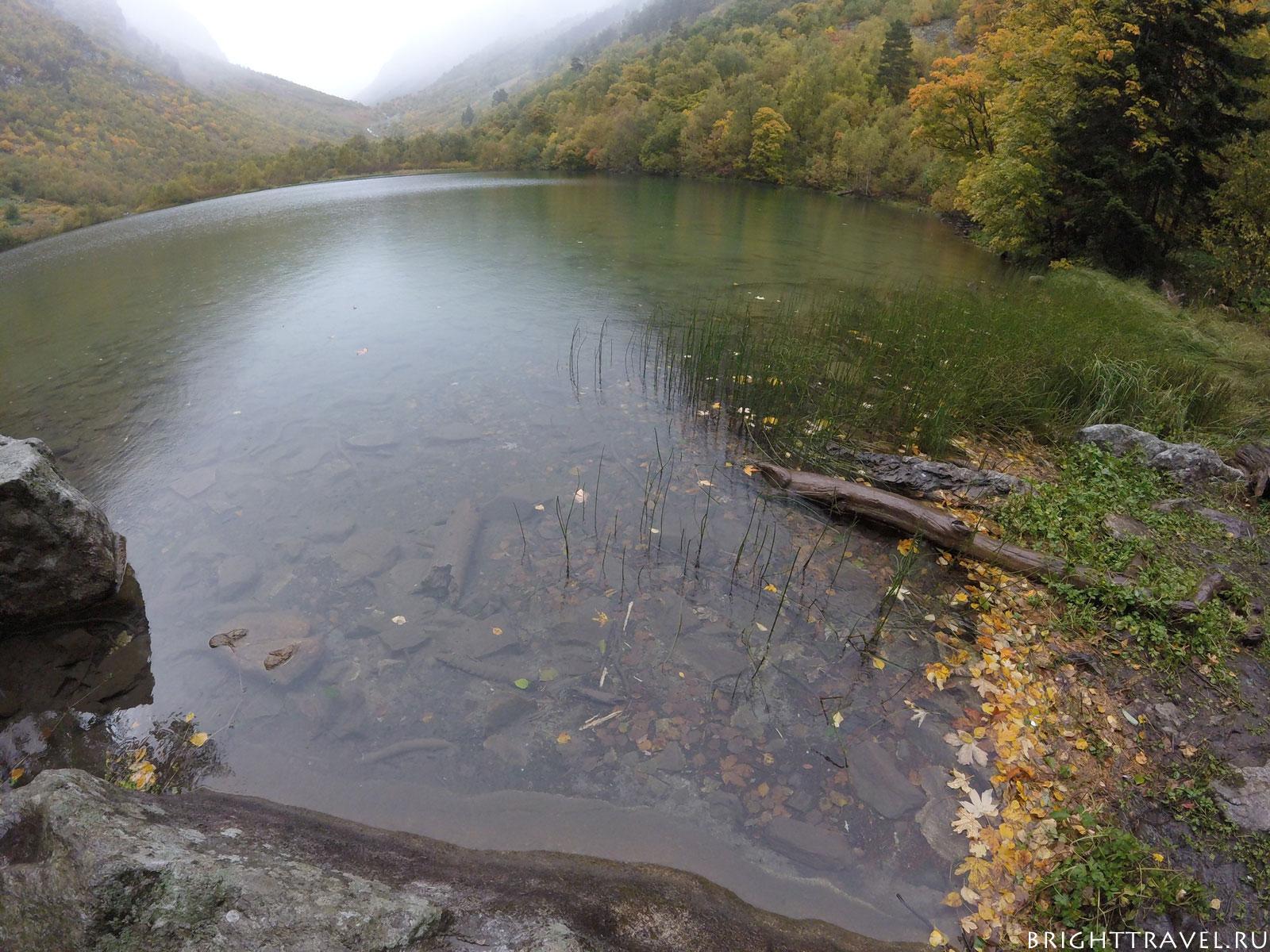 Чистейшая вода в бадукском озере