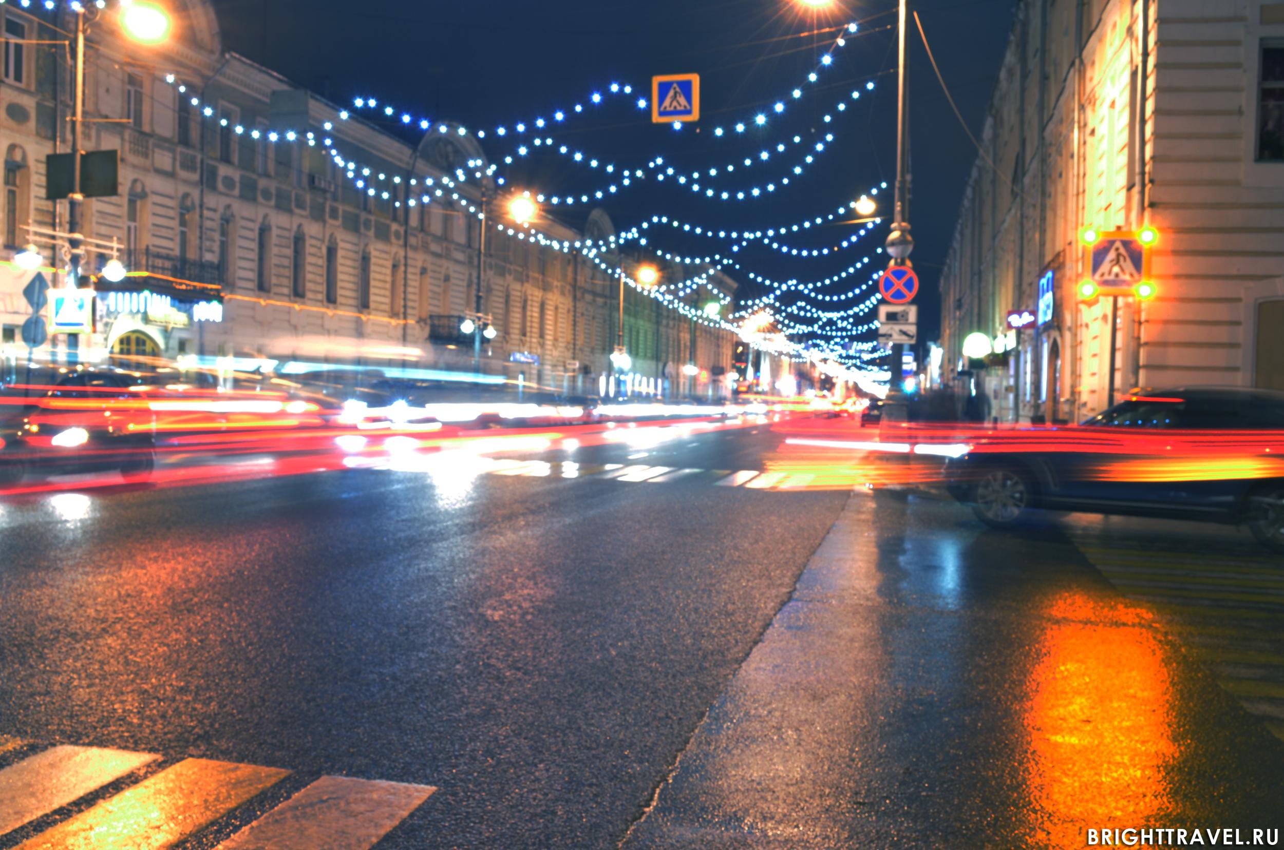 Оживление на улицах Твери