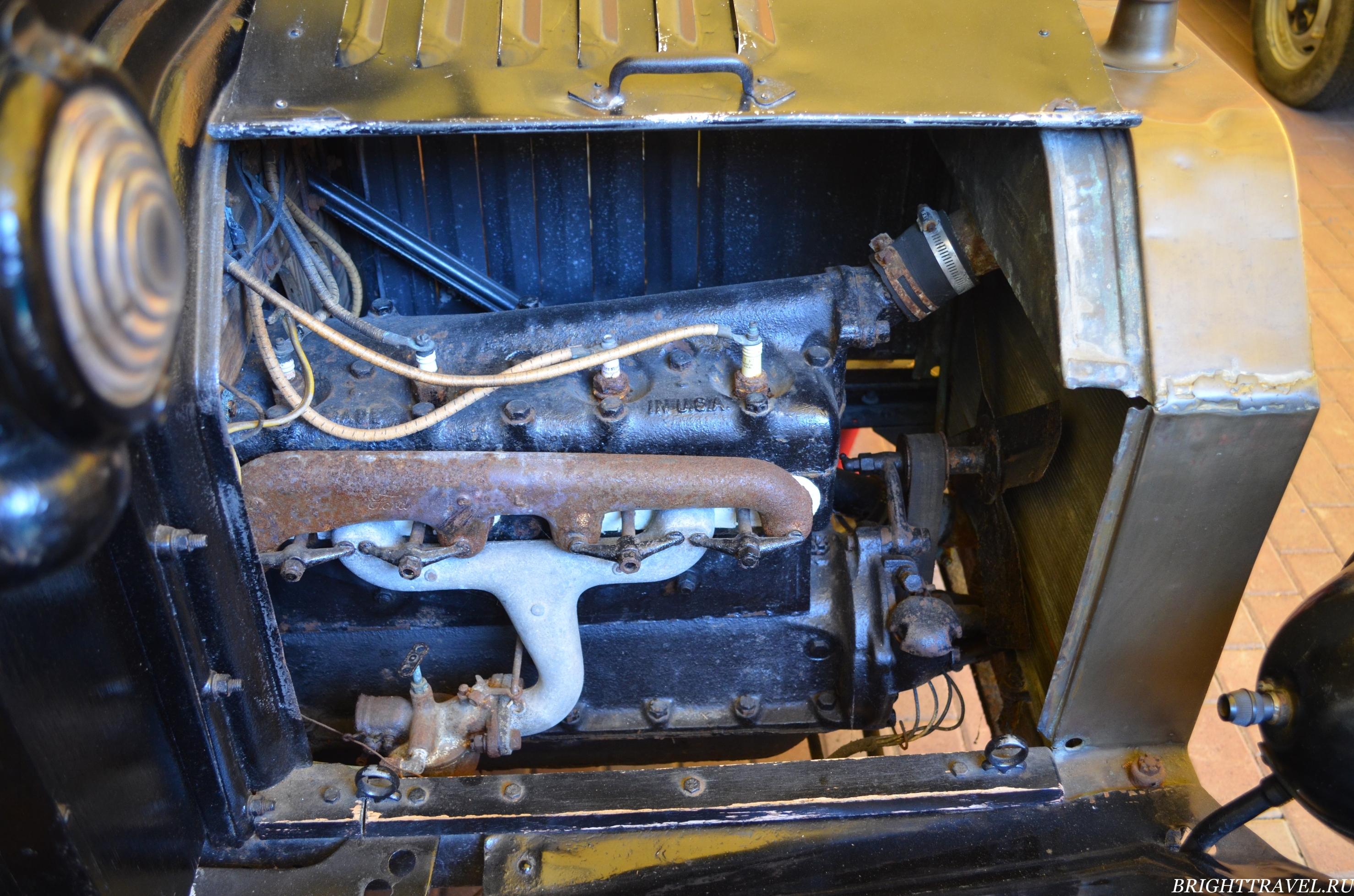 Двигатель Ford T