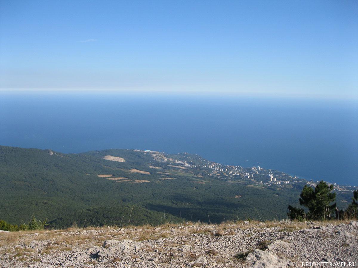 Вид с горы Ай-Петри