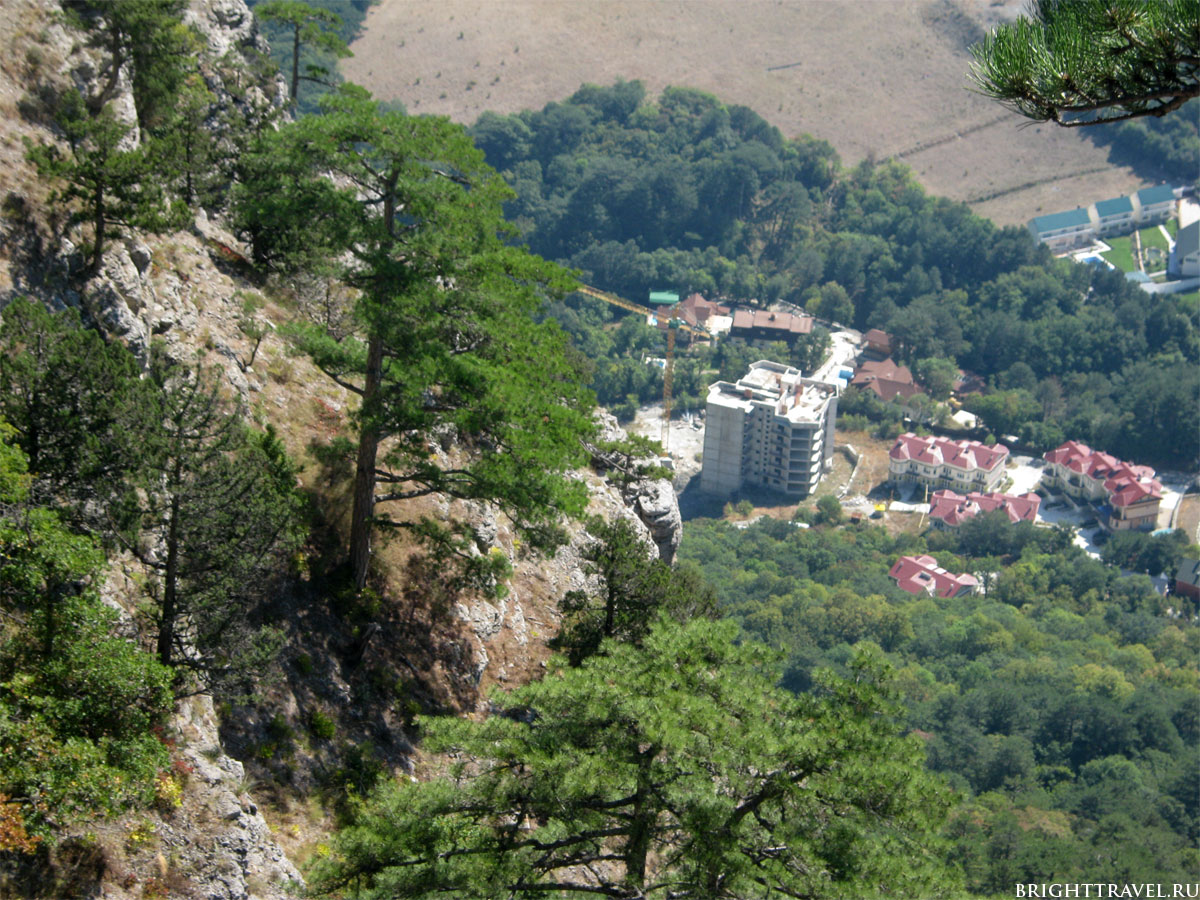 Фото с высоты горной тропы #2