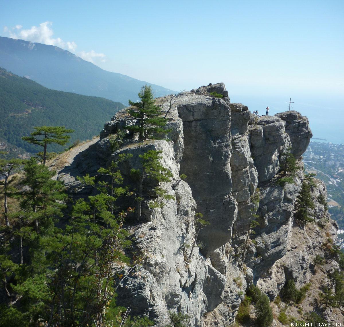 Фото горы рядом с Ялтой